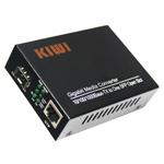 Медиаконвертер KIWI 10/100/1000Base-TX/1000Base-FX, со слотом под SFP модуль